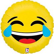 Emojis 18 Inch Emoji LOL Foil Balloon