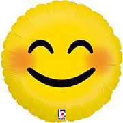 Emojis 18 Inch Emoji Smiley Foil Balloon