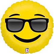 Emojis 18 Inch Emoji Sunglasses Foil Balloon