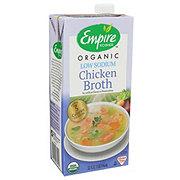 Empire Kosher Organic Low Sodium Chicken Broth