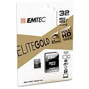 EMTEC microSDHC 32GB Class10 Gold Memory Card