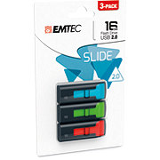 EMTEC Slide Flash Drive 16 GB