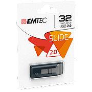 EMTEC Slide USB 2.0 Flash Drive 32 GB