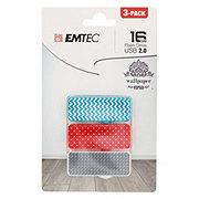 EMTEC USB 2.0 8 GB Wallpaper Print