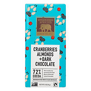 Endangered Species 72% Cocoa Dark Chocolate With Cranberries & Almonds