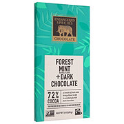 Endangered Species 72% Cocoa Dark Chocolate With Forest Mint