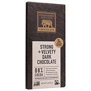 Endangered Species Black Panther Strong & Velvety Dark Chocolate 88%