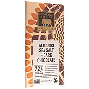 Endangered Species Owl Almonds Sea Salt & Dark Choc 72%