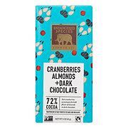 Endangered Species Wolf Cranberries Almonds & Dark Chocolate 72%