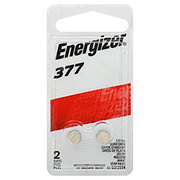 Energizer 377 Zero Mercury Watch Battery