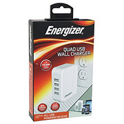 Energizer 4.9 Amp 4 USB Wall Charger