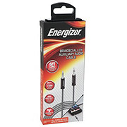 Energizer 6 ft Nylon Braided Auxiliary Cable