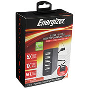 Energizer 7 Amp 5 USB Charging Station
