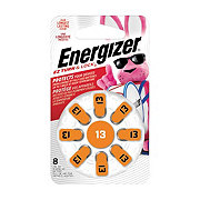 Energizer E-Z Turn & Lock Size 13 Hearing Aid Batteries
