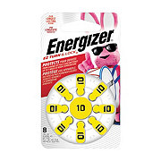 Energizer E-Z Turn & Lock Size 10 Hearing Aid Batteries