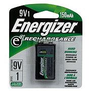 Energizer E2 Rechargeable 9V Battery 150Mah