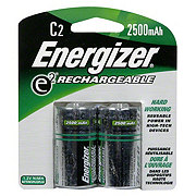 Energizer E2 Rechargeable C 2500 Mah Batteries