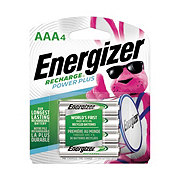 Energizer Energizer Recharge Power Plus Rechargeable AAA Batteries, 4 Pack