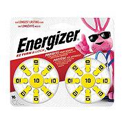 Energizer EZ Turn & Lock Size 10 Hearing Aid Batteries