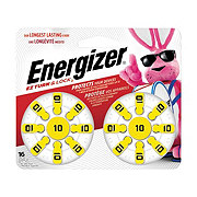 Energizer EZ Turn & Lock Size 10 Hearing Aid Batteries