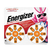 Energizer EZ Turn & Lock Size 13 Hearing Aid Batteries