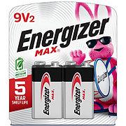 Energizer MAX Alkaline 9 Volt Batteries