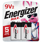 Energizer Max + Power Seal Alkaline 9V Batteries