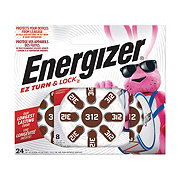 Energizer  Size 312 EZ Turn & Lock Hearing Aid Batteries