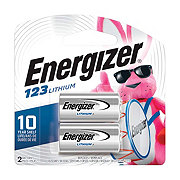Energizer Photo Lithium 123 Batteries