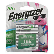Energizer Recharge Power Plus Rechargeable AA Batteries