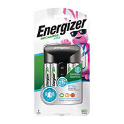 Energizer Recharge Pro Charger for NiMH Rechargeable AA and AAA Batteries
