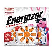 Energizer Size 13 EZ Turn & Lock Hearing Aid Batteries