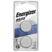 Energizer ZeroMercury Watch Or Electronic 2032 Batteries