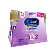 Enfamil Gentlease Infant Formula Milk-Based with Iron for Fussiness Gas & Crying (0-12 Months), 6 ct