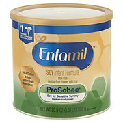 Enfamil ProSobee Soy Powder with Iron Infant Formula (0-12 Months)