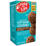 Enjoy Life Gluten Free Allergy Friendly Double Chocolate Brownie Vegan Soft Baked Cookies