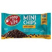 Enjoy Life Gluten Free Allergy Friendly Semi-Sweet Vegan Chocolate Mini Chips