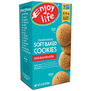 Enjoy Life Gluten Free Allergy Friendly Snickerdoodle Soft Baked Cookies