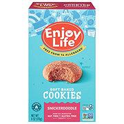 Enjoy Life Vegan Free Allergy Friendly Snickerdoodle Soft Baked Cookies