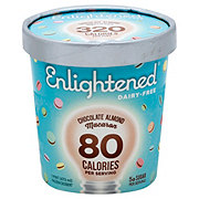 Enlightened Dairy-Free Chocolate Almond Macaron Frozen Dessert