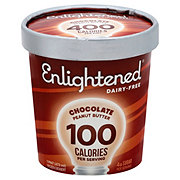 Enlightened Dairy-Free Chocolate Peanut Butter Frozen Dessert