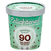 Enlightened Dairy-Free Cookies & Mint Frozen Dessert