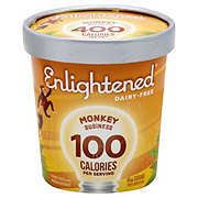 Enlightened Dairy-Free Monkey Business Ice Cream