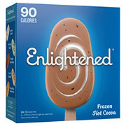 Enlightened Frozen Hot Cocoa Ice Cream Bars