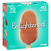 Enlightened Fudge Ice Cream Bars