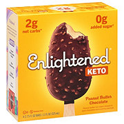 Enlightened Peanut Butter Ice Cream Bars