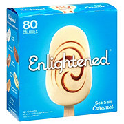 Enlightened Sea Salt Caramel Ice Cream Bars