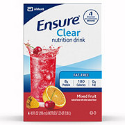 Ensure Clear Nutrition Drink Mixed Fruit Ready-to-Drink 4 pk