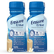Ensure Enlive Advanced Nutrition Shake Vanilla Ready-to-Drink 4 pk
