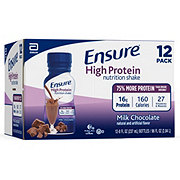 Ensure High Protein Nutrition Shake Milk Chocolate Ready-to-Drink 12 pk